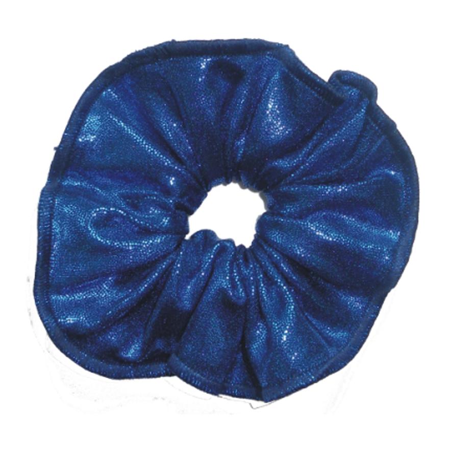 haarfrutsels metallise donkerblauw