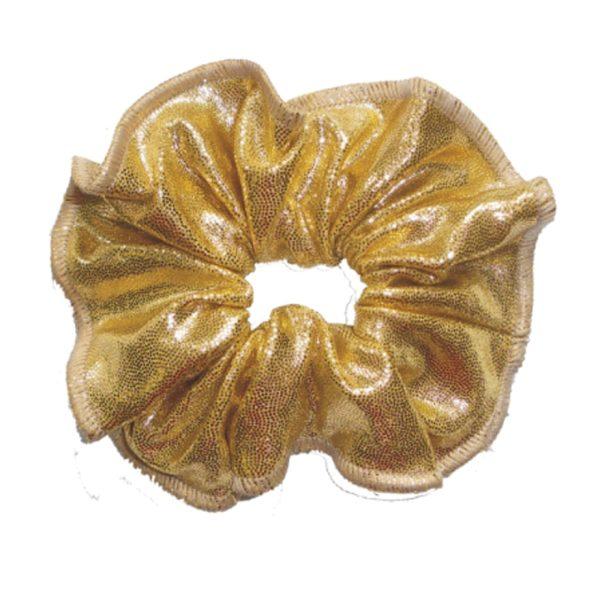 haarfrutsels metallise poudre goud