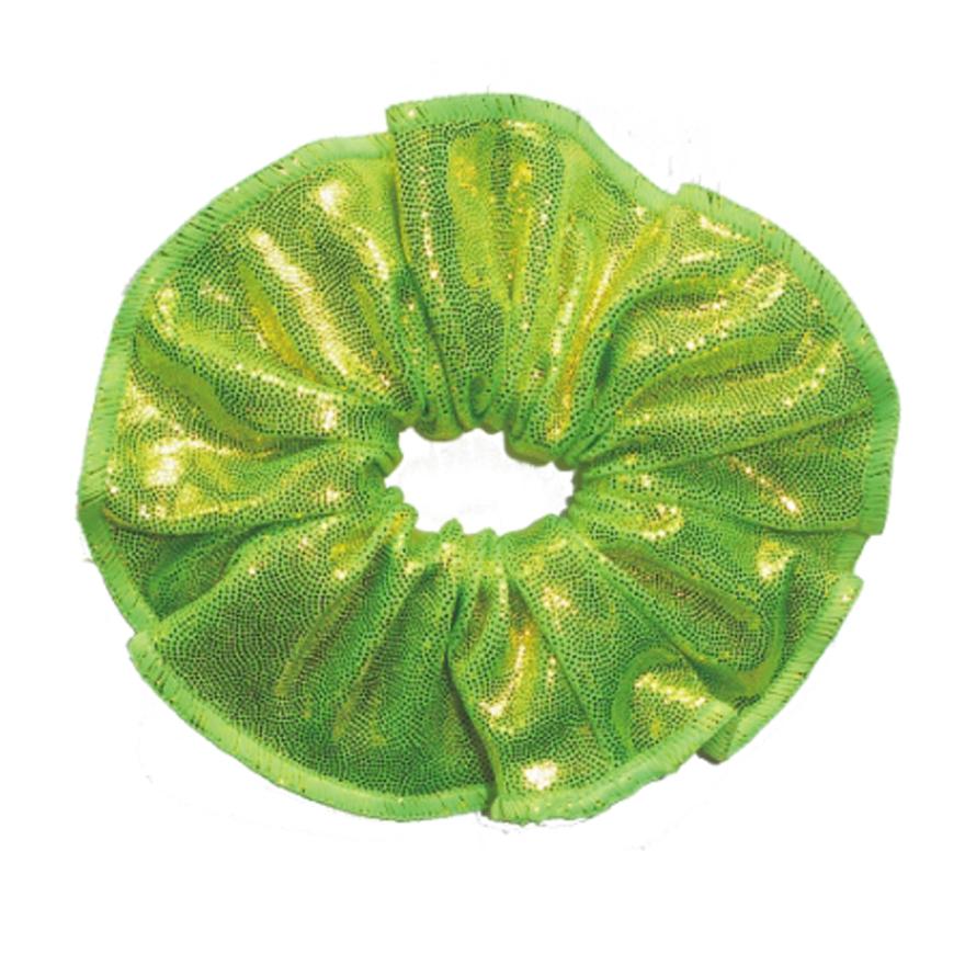 haarfrutsels metallise poudre lime