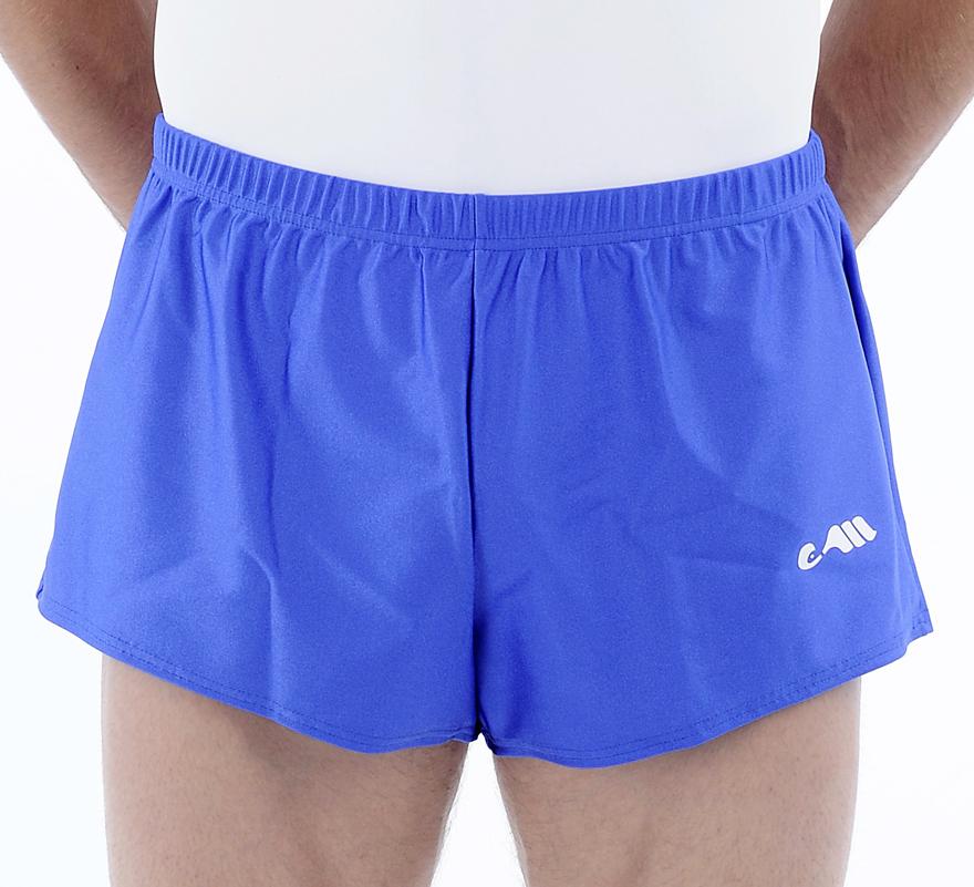 heren korte broek blauw