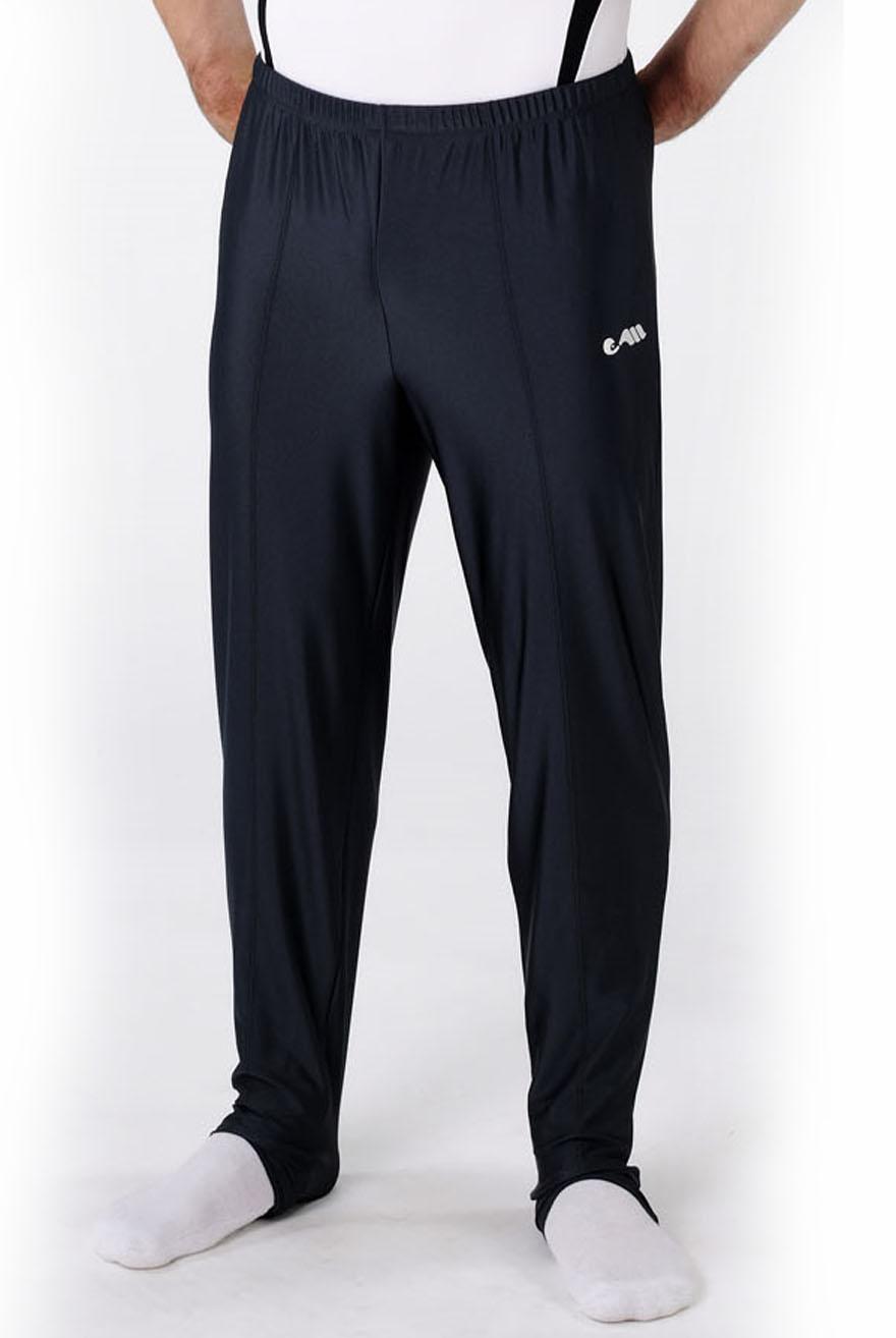 heren lange broek zwart