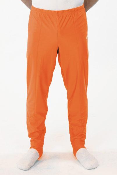 heren lange broek oranje