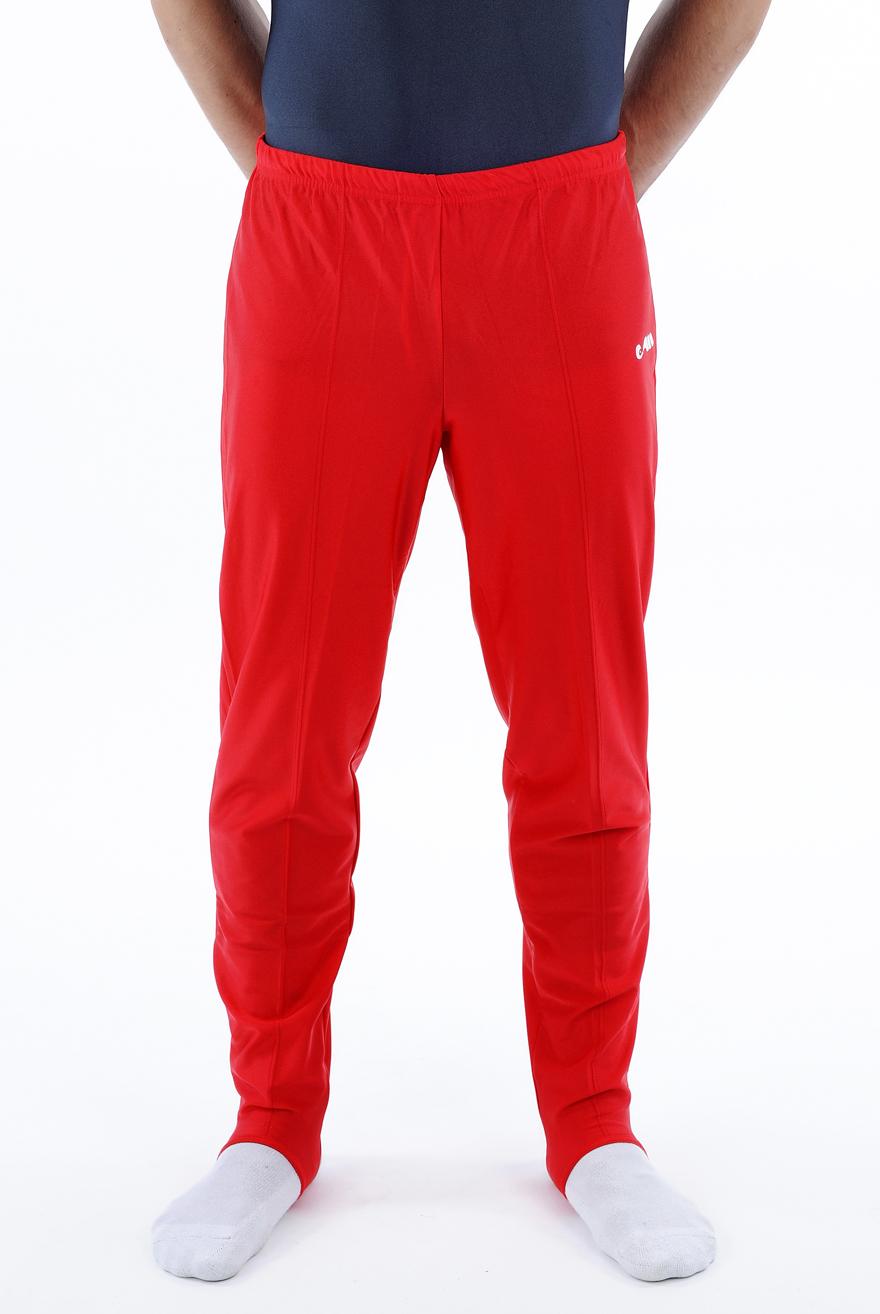 heren lange broek rood