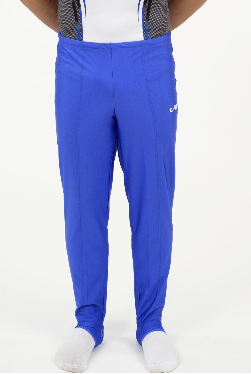 heren lange broek blauw