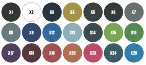 kleuren gymtex